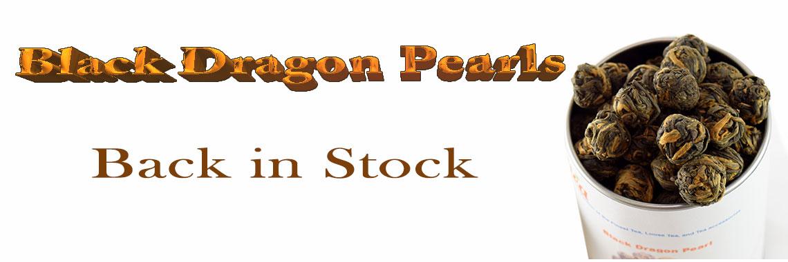Black Dragon Pearls Back in Stock
