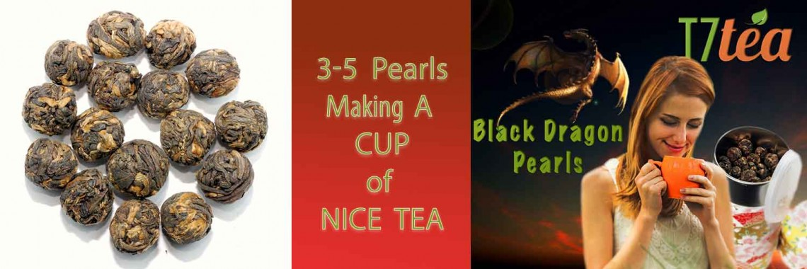 Black Dragon Pearls Tea | All time Bestseller