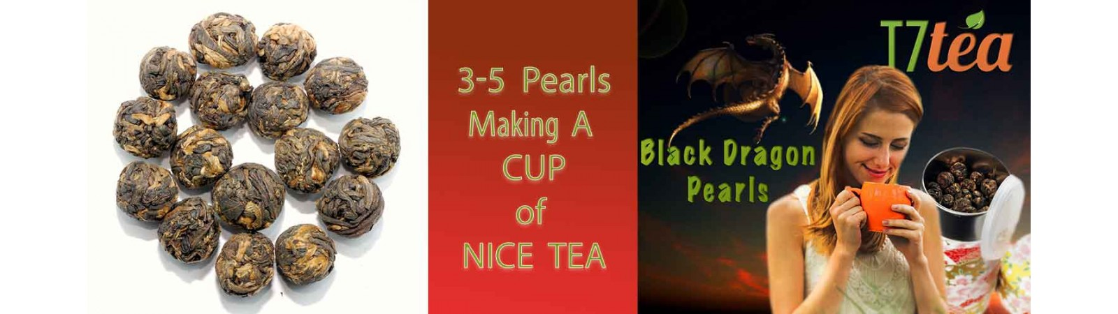 Black Dragon Pearls Tea | All time Bestseller