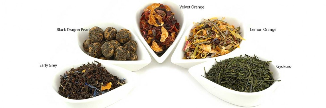Selection of Finest Loose Tea
