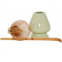 Matcha Whisk and Holder Set