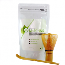 Organic Matcha Gift Set w/ Whisk & Scoop