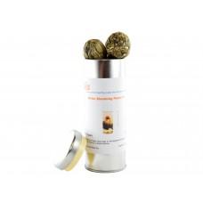 Blooming Tea 6 Bulbs in Cylinder Tea Tin