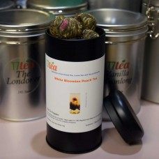 18 Blooming White Peach Tea-Black Tea Tin