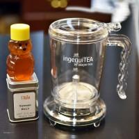 IngenuiTea 16oz with Tea Sampler & Local Texas Honey