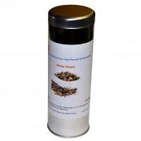 White Peach Tea 1oz | Silver Tea Canister