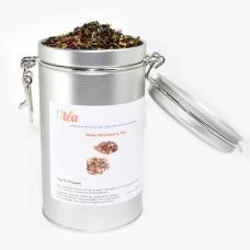 White Strawberry Tea in Silver Tea Tin