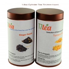 1.6 oz Cylinder Tin (Matte Copper)