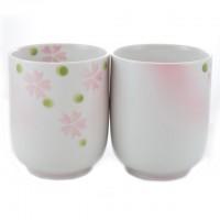 Sakura Japanese Style Tea Cup - set of 2
