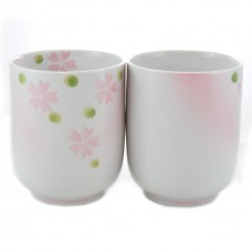Sakura Japanese Style Tea Cup - set of 2
