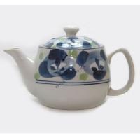 Japanese Style Teapot - Blue