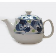 Japanese Style Teapot - Blue