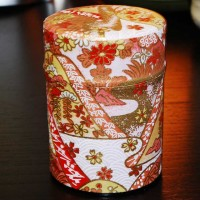 Washi Tea Tin - Ceremony Matcha Caddy Size-40