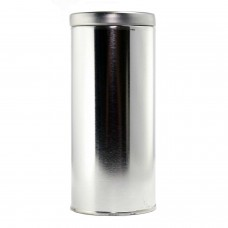 Silver Tea Canister 6.1""