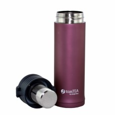 toasTEA travel mug and infuser (blush)